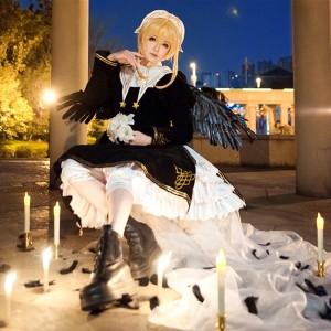 カードキャプターさくら 木之本桜 さくら 黒天使 コスチューム 天使服