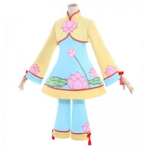 カードキャプターさくら クリアカード編 木之本桜 蓮の花柄 スカート