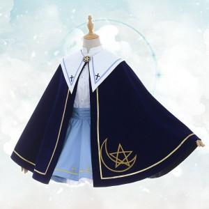 カードキャプターさくら クリアカード編 木之本桜 同人コスプレ衣装 スカート コード 帽子 手袋