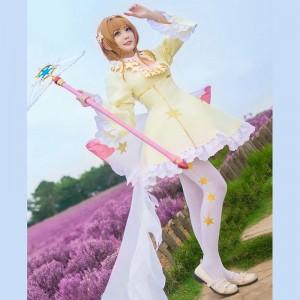 カードキャプターさくら クリアカード編 木之本桜 星 スカート