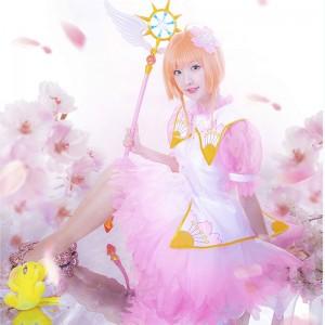 カードキャプターさくら クリアカード編 木之本桜 水晶 ピンク スカート
