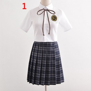 制服 jk コスプレ衣装 清楚 セーラー服 3本線の襟 セット セーター