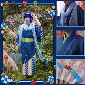 VOCALOID ボーカロイド カイト kaito コスプレ衣装 着物