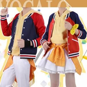 VOCALOID ボーカロイド 鏡音リン Rin 鏡音レン Len 日常風 コスプレ衣装