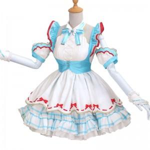 ボーカロイド VOCALOID 初音ミク 「不思議の国のアリス」 空色 スカート コスプレ衣装 コスチューム