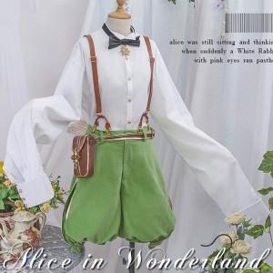 ボーカロイド VOCALOID 鏡音レン 「不思議の国のアリス」 コスプレ衣装 コスチューム