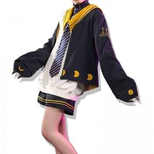 vocaloid 鏡音レン 学院風 コスプレ衣装 セット 洋服
