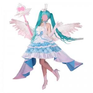 ボーカロイド 初音ミク Sweet Angel 13周年 miku 誕生日礼服  仮装