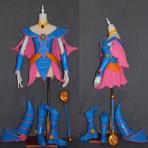 遊☆戯☆王 ブラック·マジシャン·ガール BMG セット ピンク ブルー コスプレ衣装