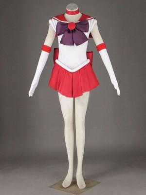 美少女戦士セーラームーン 火野レイ 第1代の戦闘服  6セット コスプレ衣装