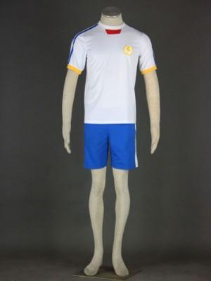 日本代表チーム 夏のサッカー服装 第2代 イナズマイレブンコスプレ衣装
