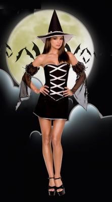 ブラック クロスリボン 海賊風コスチューム衣装