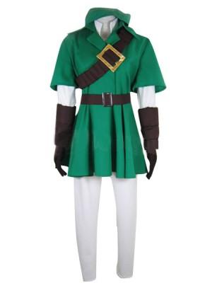 ゼルダの伝説 風のタクト リンク コスプレ衣装