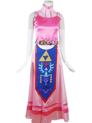 ゼルダの伝説 時のオカリナ 3D ゼルダ姫 (Princess Zelda) 衣装  コスプレ 衣装 コスチューム