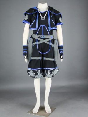 ソラ4代 ブラック キングダムハーツ コスプレ衣装 9セット