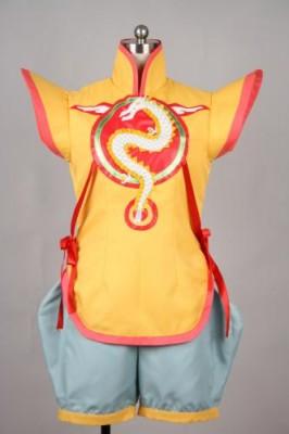 TIGER&BUNNY ドラゴンキッド 黄宝鈴風 コスプレ衣装