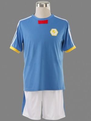 イナズマイレブン 吹雪士郎 日本代表隊 夏のサッカー服装 コスプレ衣装