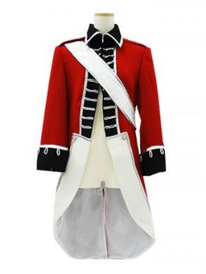 コスプレ ヘタリア イギリス 独立戦争軍事服コスプレ衣装