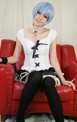新世紀エヴァンゲリオン EVA  綾波レイ ファッション衣装 コスプレコスチューム