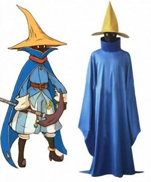 ファイナルファンタジー ブラック 黒魔導士 コスプレ衣装 魔導師