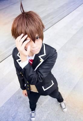中二病でも恋がしたい!富樫 勇太(とがし ゆうた) 風 コスプレ衣装  男子制服  コスチューム 高校男性制服