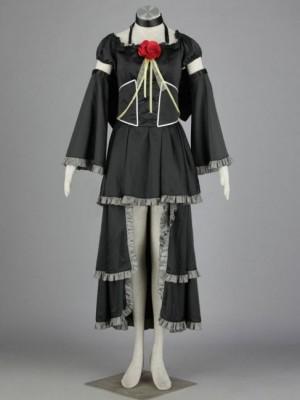 初音家族 雑音ミク 鏡音レンの服 コスプレ 7セット衣装
