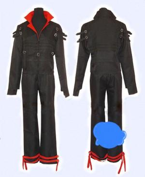 コスプレ衣装 新品 機動戦士ガンダムSEED風 キラ ヤマト風 ブラック コスチューム