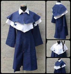 APHヘタリアPrussiaプロイセン風 /プロイセン公国 ◆黒塔利亜 ◆修士風 コスプレ衣装