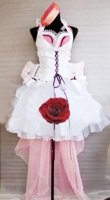 マクロスF シェリル 射手座 女王ホワイト コスプレ衣装