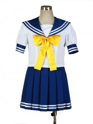らきすた, 陵桜学園高等部女子制服,夏服,セーラー服,コスプレ 衣装