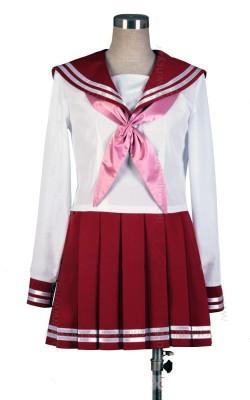 らきすた, 陵桜学園高等部女子制服,冬服,セーラー服,コスプレ 衣装,