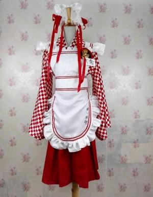 真・三國無双7(しん・さんごくむそう) 大喬 メイド服 DLC コスプレ衣装