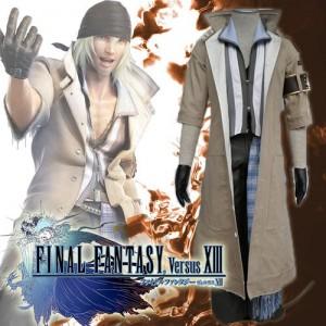 ファイナルファンタジーXIII FFINAL FANTASY XIII FF13 スノウ ヴィリアース Snow Villiers コスプレ 衣装
