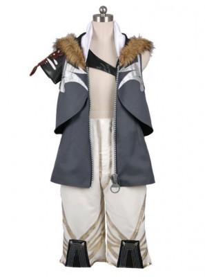 ファイナルファンタジーXIIIサーティーン FFINAL FANTASY XIII FF13 スノウ ヴィリアース Snow Villiers コスプレ衣装