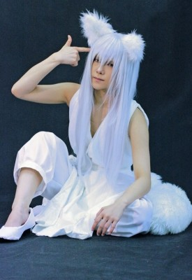 幽遊白書 蔵馬風 妖狐Ver. コスプレ 衣装 コスチューム 妖狐蔵馬 ようこくらま