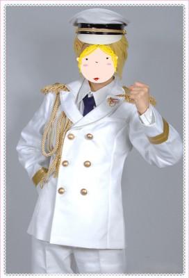 うたの☆プリンスさまっ♪  Shining All Star CD  RAINBOW☆DREAM風 コスプレ衣装 白軍服 コスチューム
