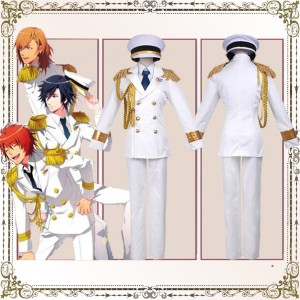 豪華版 うたの☆プリンスさまっ♪  Shining All Star CD RAINBOW☆DREAM風 コスプレ衣装 白軍服