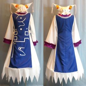 八雲藍(やくもらん) コスプレ衣装  東方Project  東方プロジェクト 東方紅魔城伝説 東方妖々夢風 コスチューム