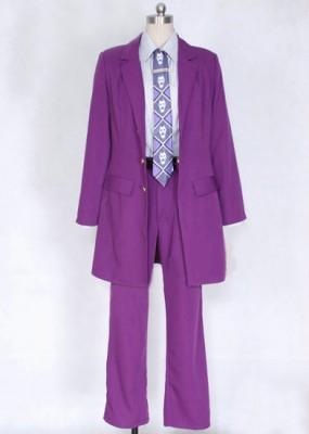 ジョジョの奇妙な冒険 吉良吉影(きら よしかげ) ドクロプリントネクタイ コスプレ衣装