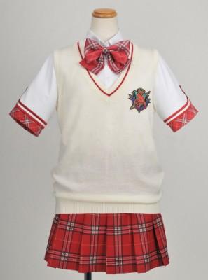 大図書館の羊飼い 私立汐美学園制服 夏服 ニットベスト オフホワイト