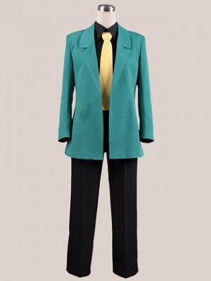 ルパン三世  ルパン三世 Lupin さんせい コスプレ衣装 Ver.緑★コスチューム
