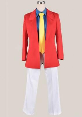 ルパン三世  ルパン三世 Lupin さんせい コスプレ衣装 Ver.赤★コスチューム
