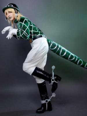 """ジョジョの奇妙な冒険 第7部 STEEL BALL RUN ディエゴ・ブランドー Diego """"Dio"""" Brando コスプレ衣装"""