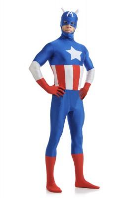 ハロウィン 衣装 マッチョなキャプテンアメリカコスチューム アベンジャーズ キャプテン・アメリカ コスプレ衣装
