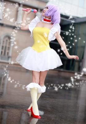 魔法の天使 クリィミーマミ コスプレ衣装 コスチューム 変装 日常装