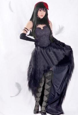魔法少女まどか☆マギカ劇場版 叛逆の物語 暁美ほむら(あけみ ほむら) 魔女化 コスプレ衣装