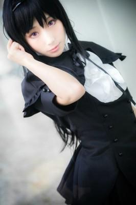 魔法少女まどか☆マギカ劇場版 暁美ほむら(あけみ ほむら) ドレス コスプレ衣装