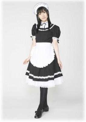 萌えコスプレ衣装 メイド服  メイドドレス 可愛いデザイン