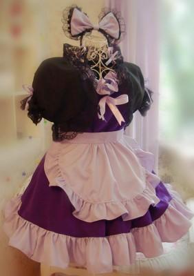 セクシーなメイド服 コスプレ衣装 メイドドレス
