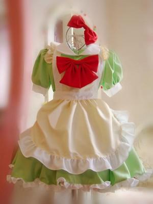 萌えコスプレ衣装 最新品メイド服 メイドドレス